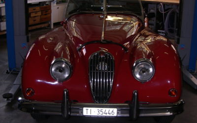 Jaguar XK 140 Roadster 1956