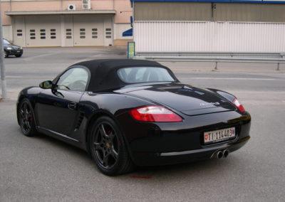 Porsche Boxter S 2006 Rear